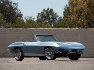 Chevrolet Corvette Stingray L76 327/340 HP Convertible 1963 года